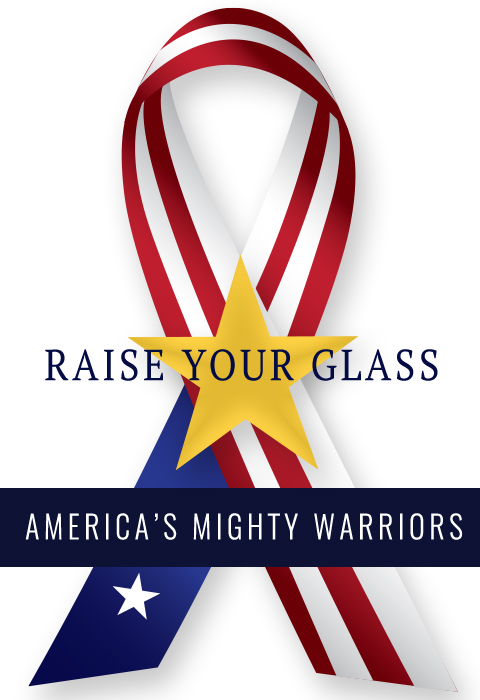 Raise Your Glass to America's Mighty Warriors